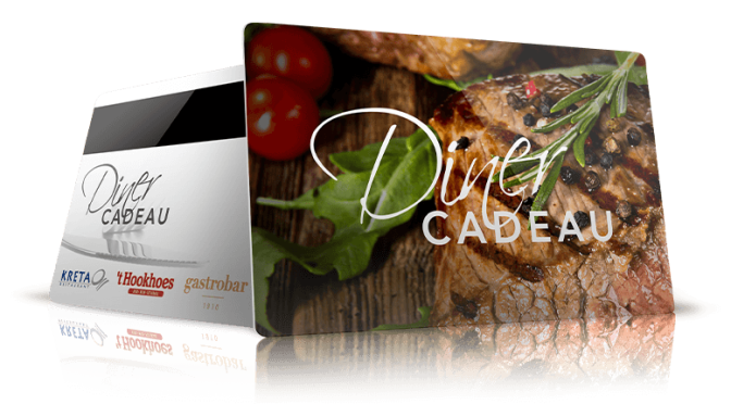dinercard geef een diner cadeau A;lmelo