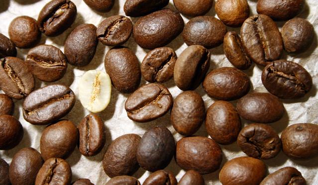 koffiebonen bepalen de smaak
