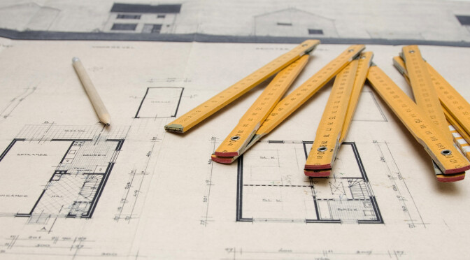Bouwtekening architect